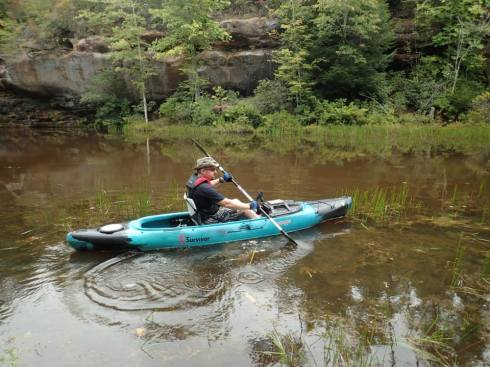 Kev Kayak2